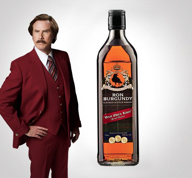 Ron Burgundy Blended Scotch Whisky
