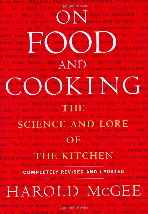 The science behind cooking...