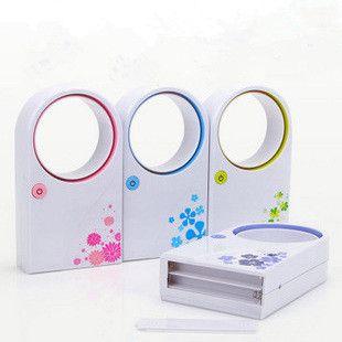 Non lame ventilateur électrique batterie Mini Usb ventilateur pratique petit ventilateur