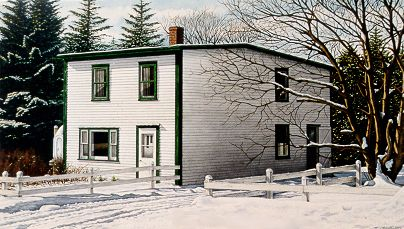 Newfoundland Art - Terence Crawford