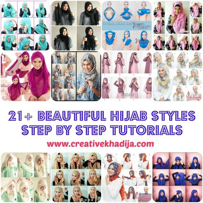 21  Beautiful Hijab Styles and Scarf Wearing Ideas