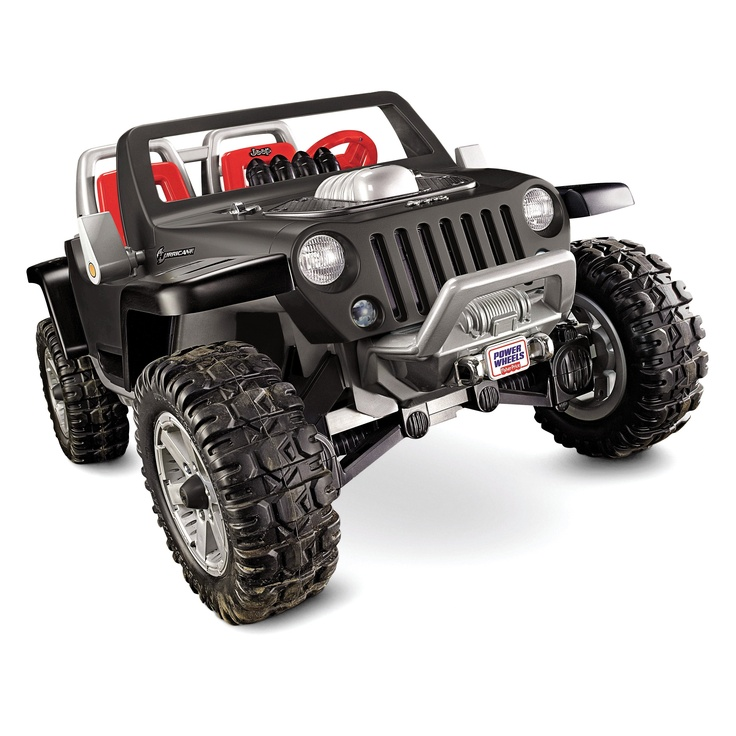 fisher price power wheels battery operated jeep hurricane riding toy