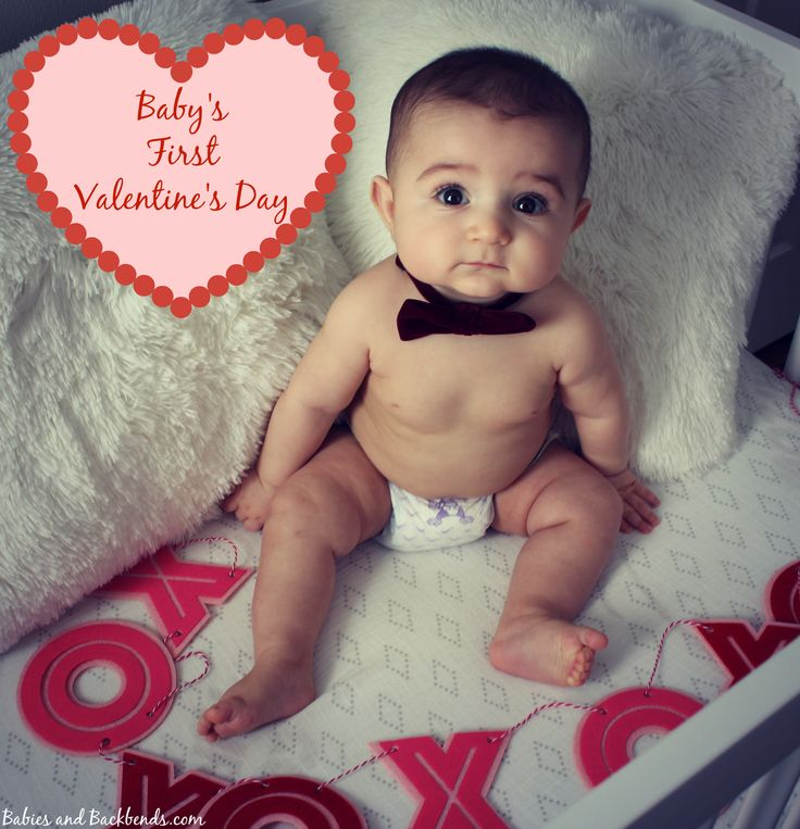 Baby's First Valentine's Day Picture Ideas