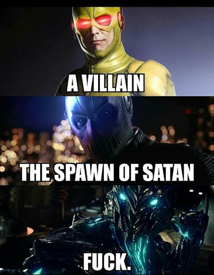 The three big bads of the Flash