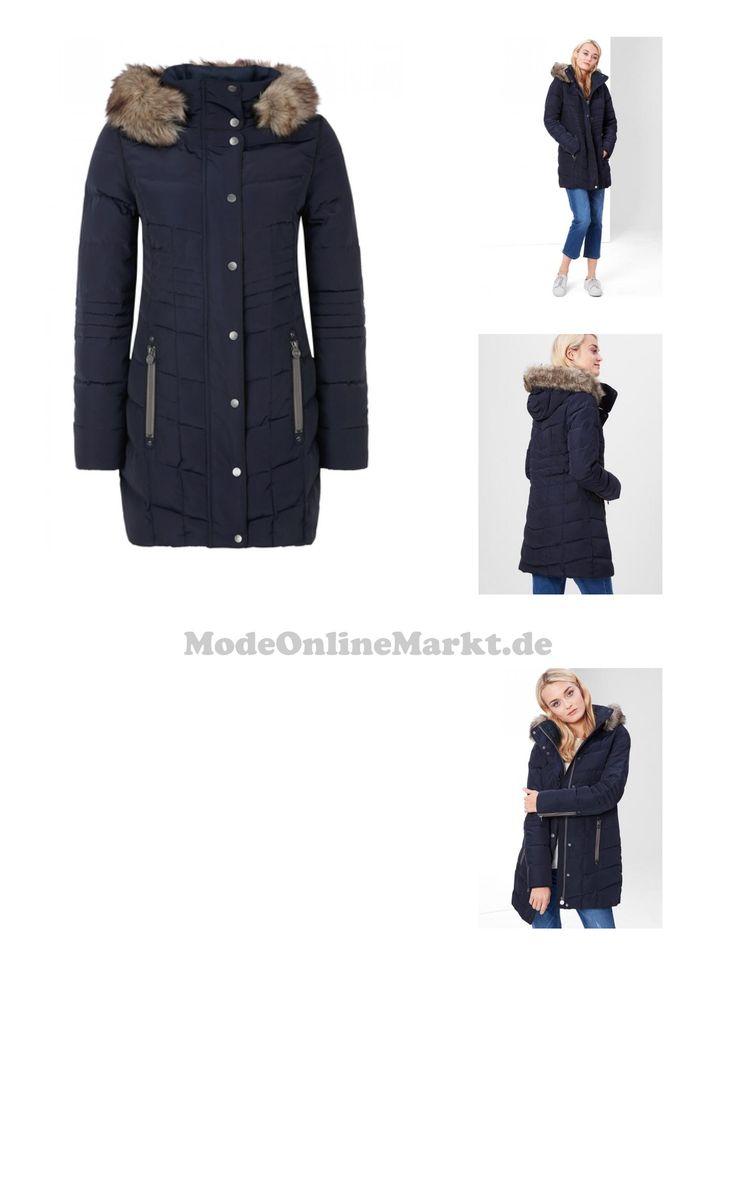 04057666661706 | #S.Oliver #RED #LABEL #Damen #Daunenmantel mit #Kunstpelz #blau
