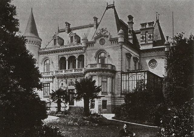 Palacio Cousiño, en el Parque de Lota by conce_antiguo, Chile.  Via Flickr