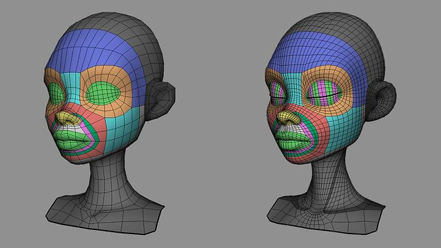 Sergi Caballer - Facial Modeling Timelapse 2/3 - FINAL TOPOLOGY by Sergi Caballer Garcia. Personal Work: Character & facial shapes modeling for a modeling timelapse video collection.