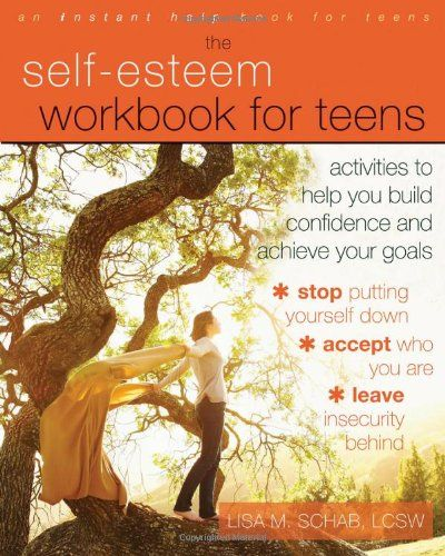 The Self-Esteem Workbook for Teens: Activities to Help You Build Confidence and Achieve Your Goals (Instant Help Book for Teens) by Lisa M. Schab LCSW http://smile.amazon.com/dp/1608825825/ref=cm_sw_r_pi_dp_lCENtb1QGSE37WRH