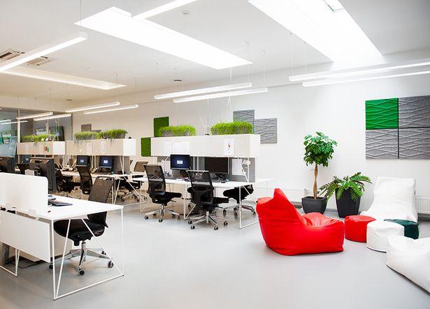 INTERNETO VIZIJA office   Furniture: Narbutas Furniture Company   Archinect