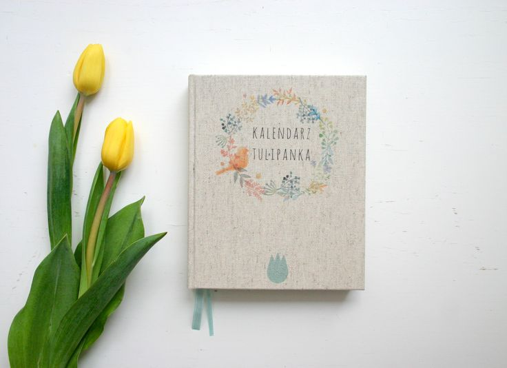Calendar for Tulipanek <3 #calendar #kalendarz #handmade #notebooksdesign