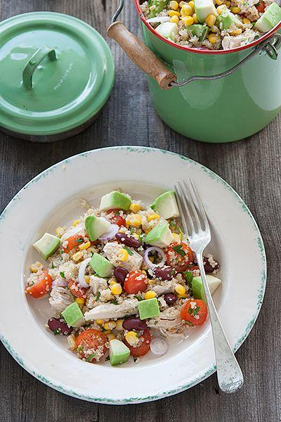Ricetta Insalata di quinoa con pollo e avocado - Labna