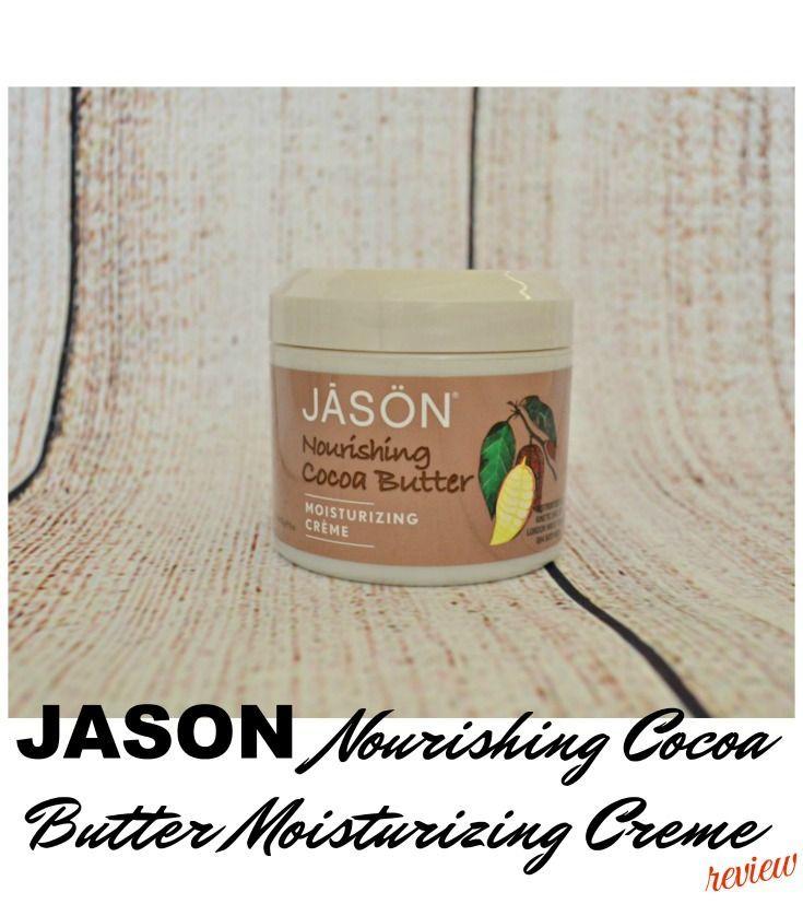 Jason nourishing cocoa butter moisturizing creme review