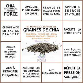 Les Bienfaits de la Graine de Chia | GRAINE DE CHIA Le Monde s'Eveille Grâce à Nous Tous ♥