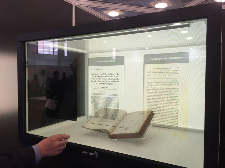 Transparent Display Boosts Interest at Museum