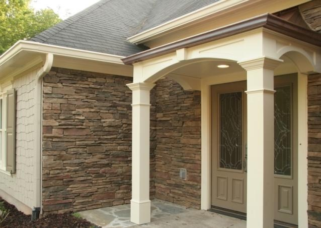 17 best images about vinyl siding on pinterest ultimate for Stone facade siding