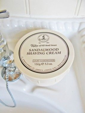 Taylor Of Old Bond Street Sandalwood Shaving Cream 150g