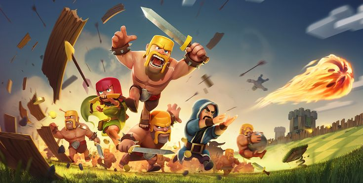 Clash of Clans (http://www.supercell.net/games/view/clash-of-clans) is an iOS multi-player strategy video game in which players build a village, train troops and attack others and defend their community. It is a freemium app, which means that the app is free but players can spend real money to advance faster in the game.
