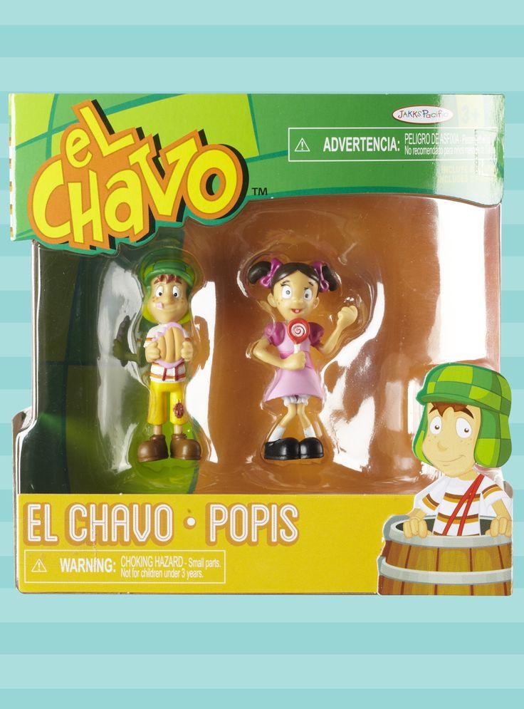 El Chavo & Popis Figure 2-Pack