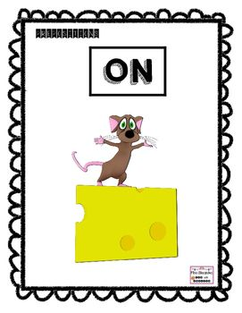 I'm offering you some prepositions of place that could be laminated to create flashcards. Here are nine prepositions (flashcards) that I use with my ESL students:On, In\ inside, above\ over, between, behind, in front of, next to\beside, under, and around.