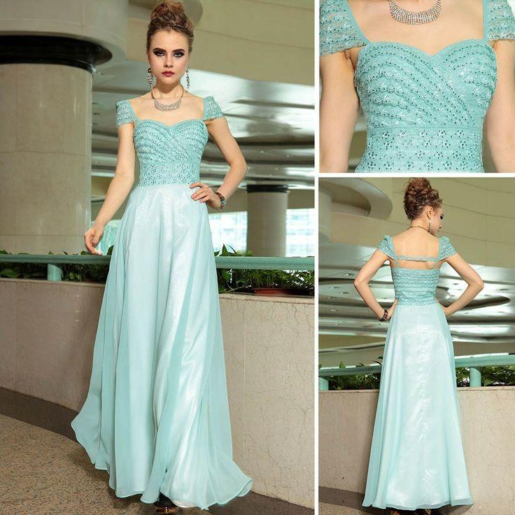 The Formal Shop - - BALL DRESS - BLUE JEWEL $258.00 FREE SHIPPING WORLDWIDE! www.theformalshop.co.nz