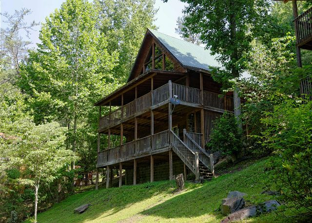17 Best Images About Cabins With With Outdoor Firepit On