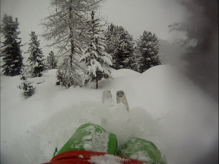 what a perfect day in a powder day!