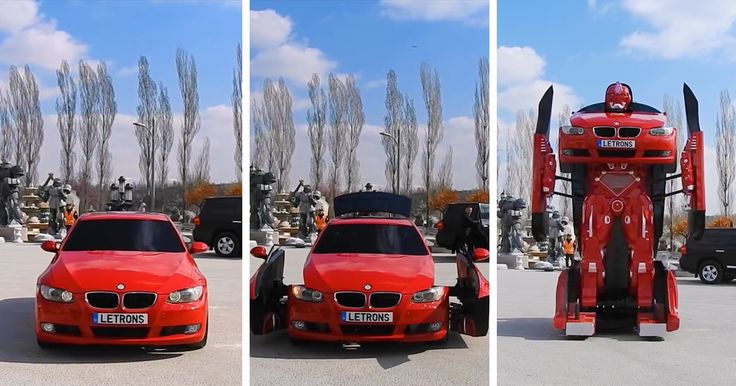 Turkish Engineers Just Made A Real-Life Driveable BMW Transformer (Video) -   All this time we thought that the Transformers franchise was fictional, but it turns out that those giant battling robots are real. Don't believe ...