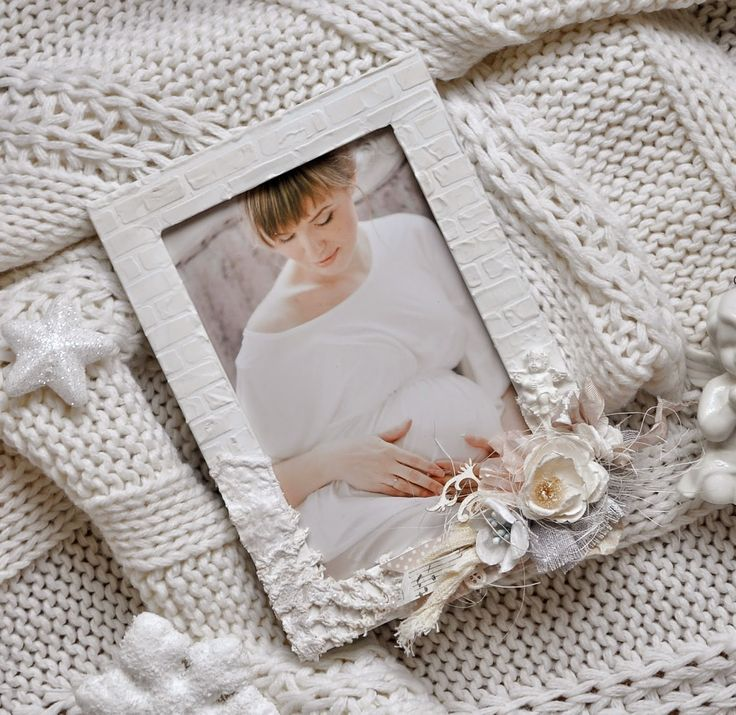 Anastasia Podvintseva: Шебби-рамочка для фото