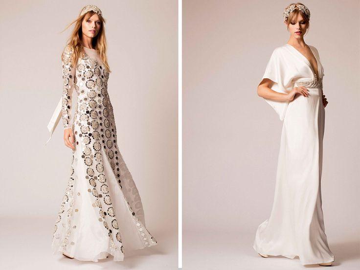 Edgy Wedding Dresses By Temperley Bridal