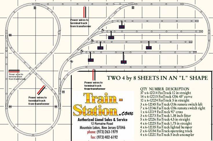 lionel o gauge track plans – Lionel Train 671 Wiring-diagram