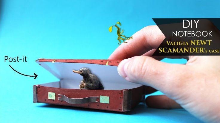 DIY Notebook  Valigia Newt Scamander's case | Animali fantastici e dove...
