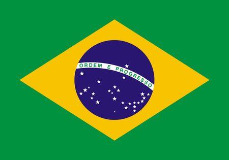 Free Bandeira do Brasil - Flag Of Brazil Clipart Illustration