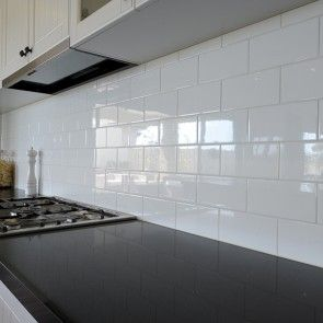 Gloss White 300 X 100 National Tiles Bathroom Reno Ideas Pinterest Products And Tile