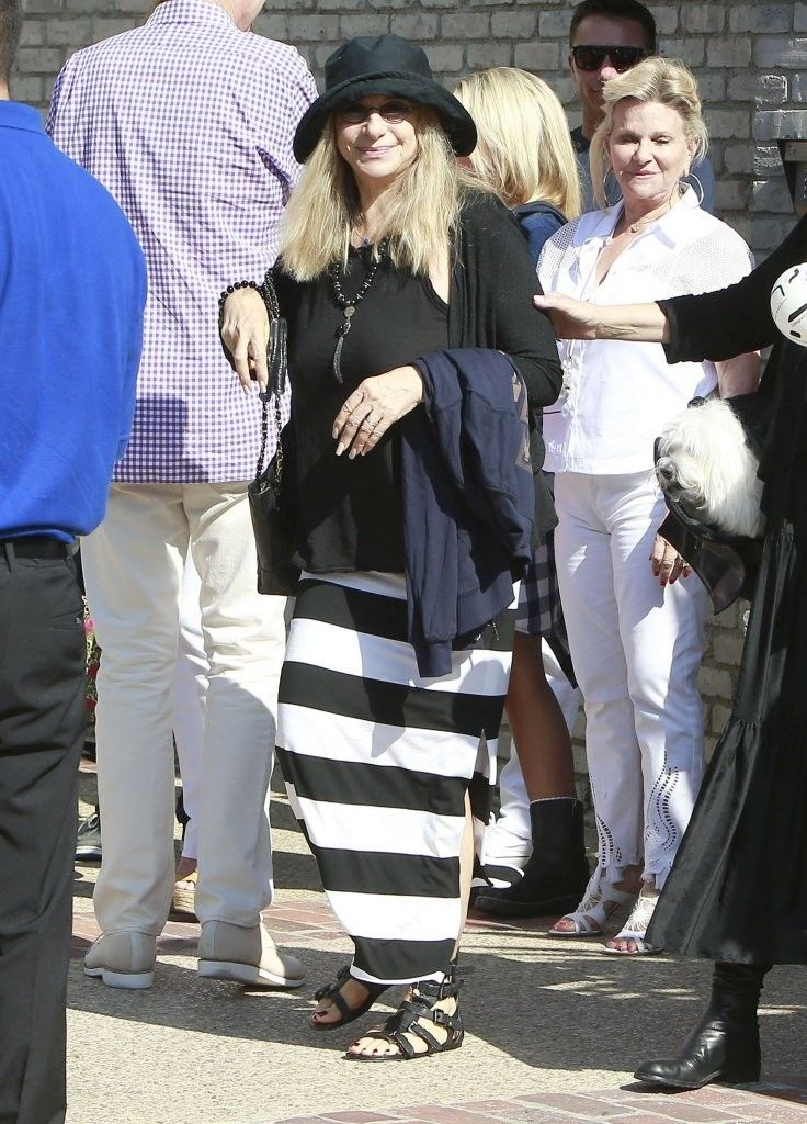 Barbra Streisand Photos: Stars Attend Joel Silver's Annual Memorial Day Party