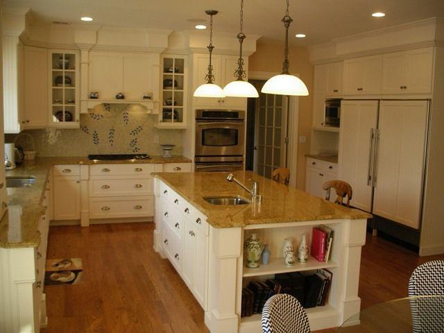 Removing Soffit Above Kitchen Cabinets | Kitchen Cabinet ...