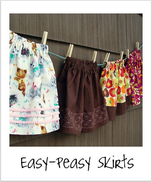 easy skirt tutorial (with a how-to on french seams and pockets!) - make for girlfriends/cousins/mom