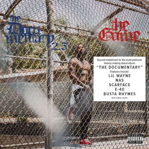 The Game Taps Lil' Wayne, Nas, Busta Rhymes For 'The Documentary 2.5′ (Tracklisting)