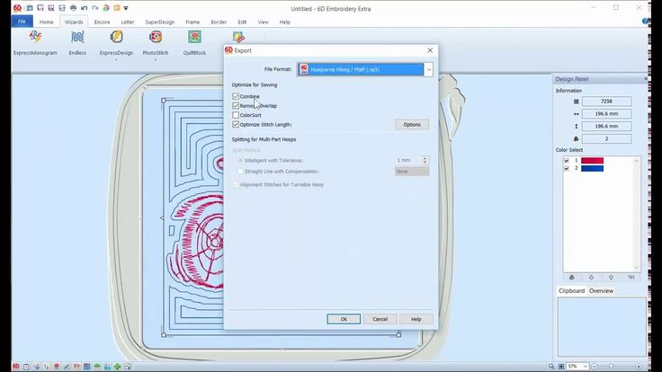 Tutorial: Adding a Quilting Design Pattern in 6D Embroidery