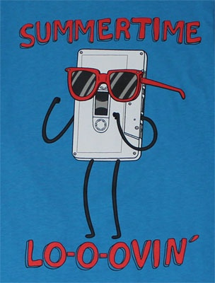 Summertime Lo-o-ovin - Regular Show.  Mordecai: You can't touch music but music can touch you.  Rigby: OH BARF!!!