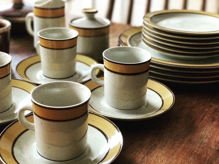 いいね!95件、コメント1件 ― @naturalwarmthのInstagramアカウント: 「どこかしら懐かしさを感じるデザイン… . 素敵…♪ . #cupandsaucer #antiques #vintage #kitchenware #newarraival…」