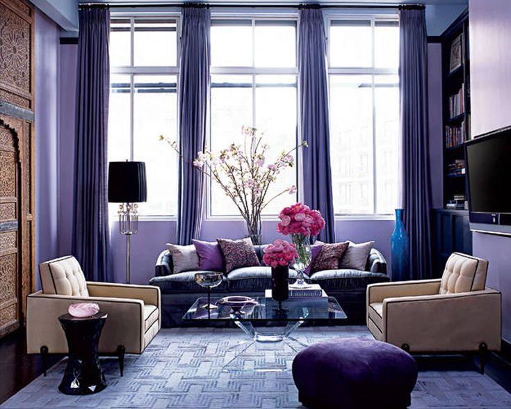 Подборка нужного цвета одна из самых главных составляющих при оформлении комнаты. Правильный выбор цвета влияет на настроение, которое будет у вас в комнате или во всем доме. Фиолетовый цвет обладает загадочностью и глубоким смыслом, поэтому его очень часто используют при оформлении дизайна интерьера. Фиолетовый очень чувственный цвет и помогает повысить человек собственную самооценку. Фиолетовый, является ...read more