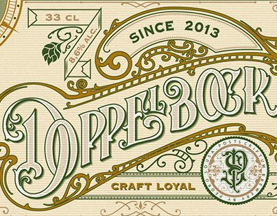 """Check out new work on my @Behance portfolio: """"Handlettered craft beer label."""" http://be.net/gallery/57130915/Handlettered-craft-beer-label"""