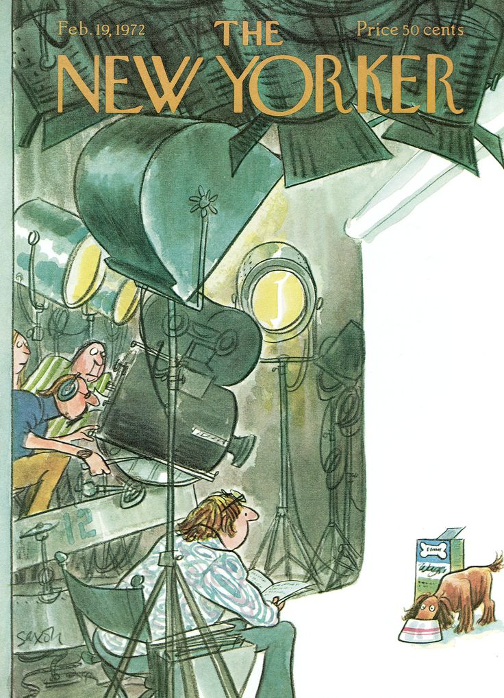 The New Yorker - Saturday, February 19, 1972 - Issue # 2453 - Vol. 47 - N° 53 - Cover by : Charles Saxon