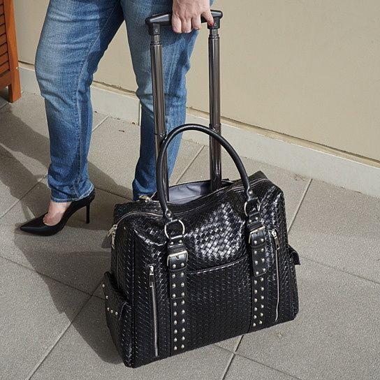 Stella Rolling Laptop Bag & Matching Laptop Sleeve