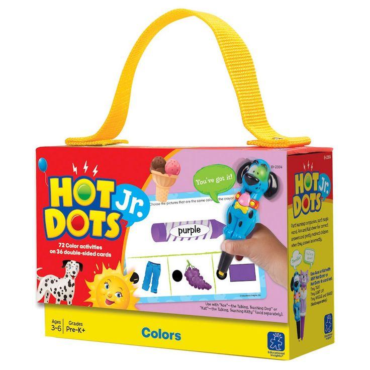 Hot Dots Jr. Cards - Colors