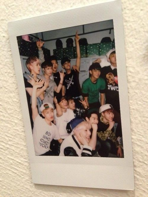 exo polaroid tumblr - Google Search
