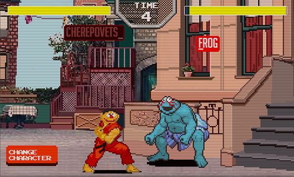 Sesame Street Fighter Is Actually A Playable Game