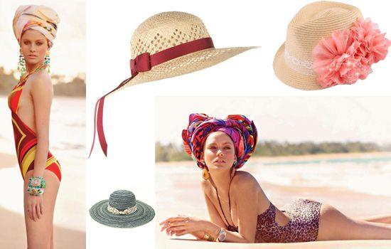 Модные пляжные шляпы 2014