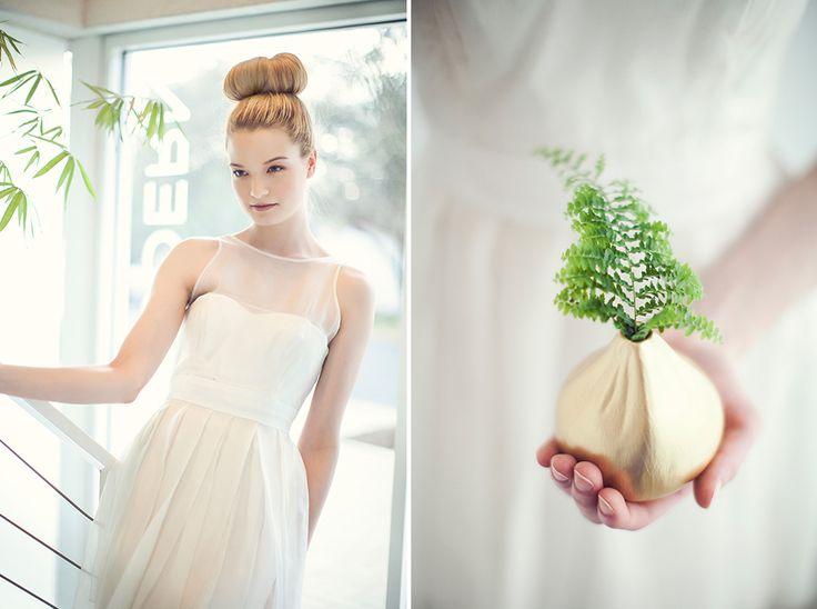 Produção fotográfica de noiva moderna minimalista - Style wedding pictures of minimalist bride in Ciarla wedding dress.