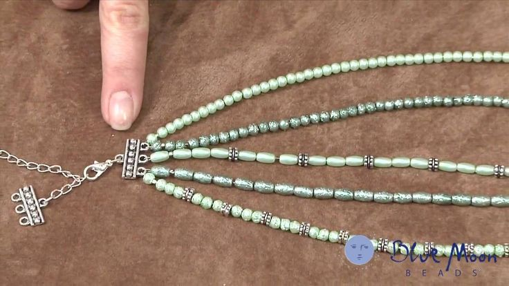 Video:  How to make a Multi-Strand Necklace #Beading #Jewelry #Tutorials